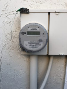 Smart Meter Electrical Main Panel