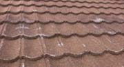 Steel Roofing showing wear